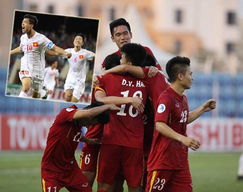 Vào tứ kết U19 châu  Á, U19 Việt Nam 2016 sẽ hơn lứa Công Phượng - 2