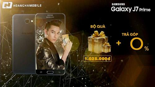 Nhận quà khủng 1 triệu khi mua Galaxy J7 Prime tại Hoàng Hà Mobile - 1