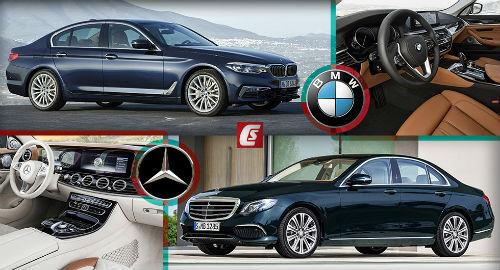BMW 5-Series và Mercedes Benz E-Class: Ai bạo hơn ai? - 1