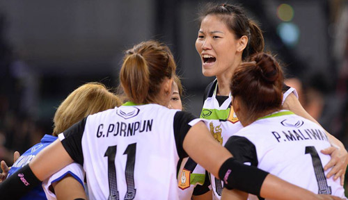 Ghi 9 điểm, Ngọc Hoa vượt SAO bóng chuyền thế giới - 1