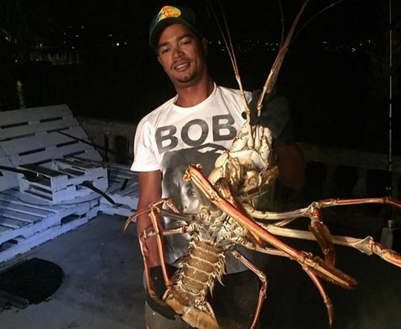 Mỹ: Bắt được tôm hùm khổng lồ 40 tuổi nặng 6kg - 1