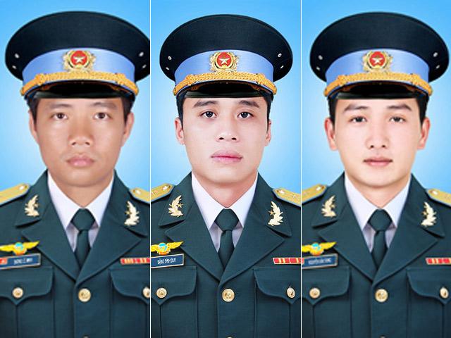 Thăng quân hàm 3 phi công hy sinh trên máy bay gặp nạn - 1