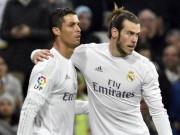 """Bóng đá - Real: CR7 lỡ hẹn kỷ lục, Bale """"giải khát"""" sau 2 năm"""
