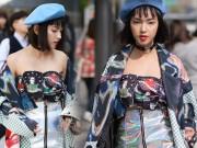 Thời trang - Hot girl Việt khoe street style cực đỉnh ở Hàn Quốc