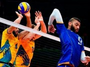 Thể thao - VĐV bóng chuyền cực dị: Ngược người đập không cần nhìn