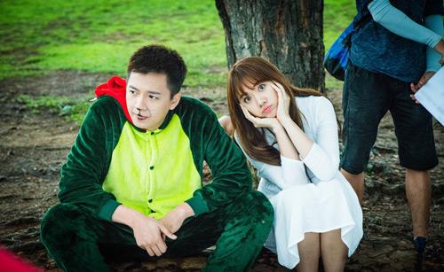 """Hari Won, Ngô Kiến Huy """"nối lại tình xưa"""" trong phim mới - 1"""