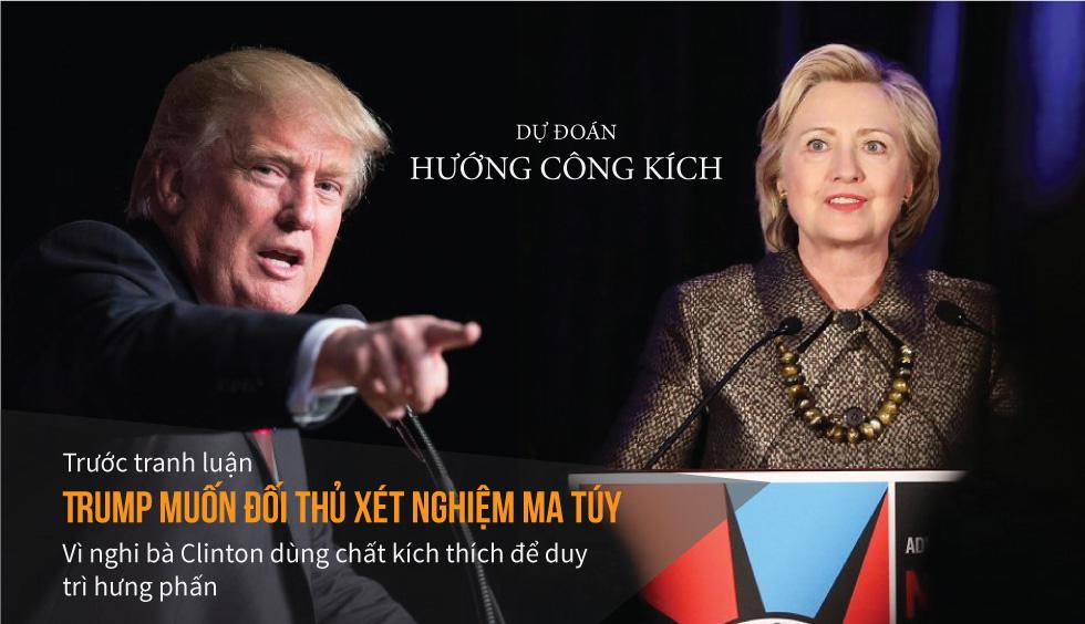 """[Đồ họa] """"Đòn độc"""" trong khẩu chiến Trump-Clinton - 11"""