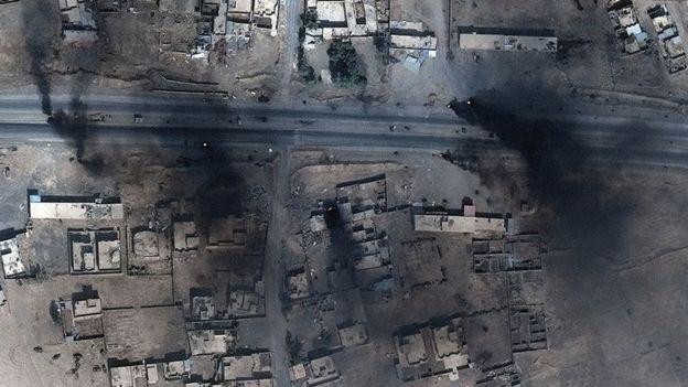 Mỹ: Thủ lĩnh IS tháo chạy khỏi thành phố Mosul - 1