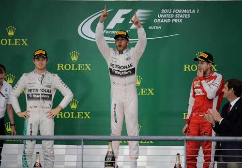 "F1, United States GP: Rosberg - Hamilton ""đá chung kết"" - 1"