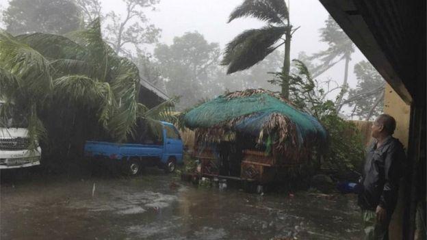 Sau Sarika, siêu bão Haima đổ bộ Philippines - 3