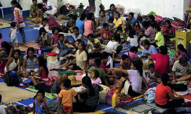 Sau Sarika, siêu bão Haima đổ bộ Philippines - 4