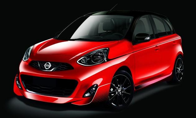Nissan March Midnight Edition sắp trình làng - 1