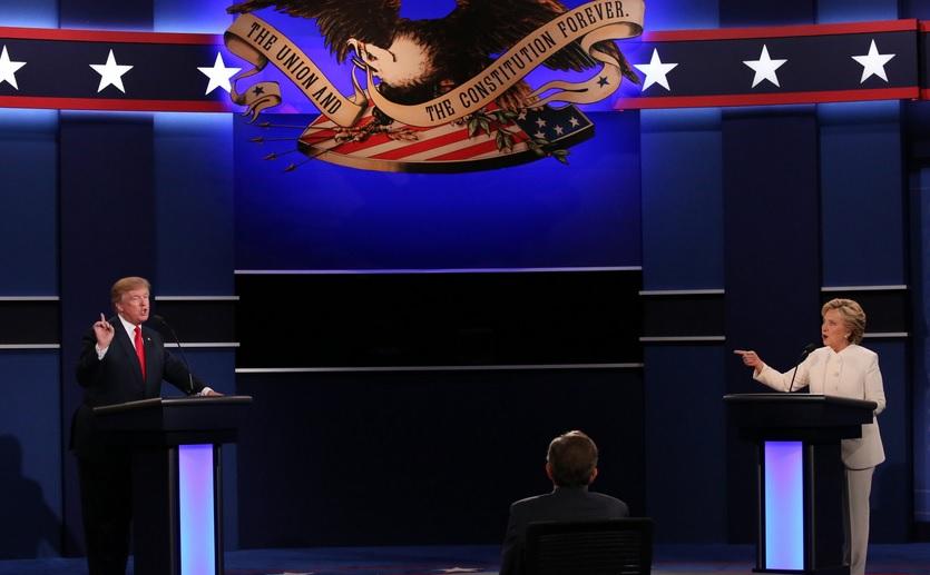 """Clinton đánh bại Trump bằng chính """"đòn"""" của đối thủ - 1"""