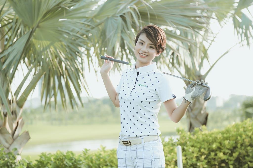 Choáng với sở thích chơi golf tốn kém của nữ MC đài VTV - 3