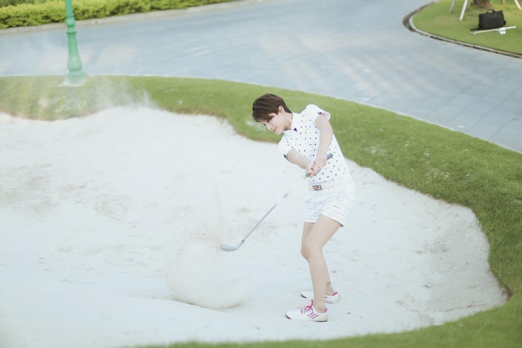Choáng với sở thích chơi golf tốn kém của nữ MC đài VTV - 8