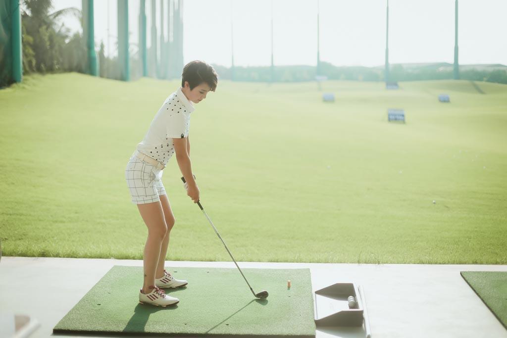 Choáng với sở thích chơi golf tốn kém của nữ MC đài VTV - 11