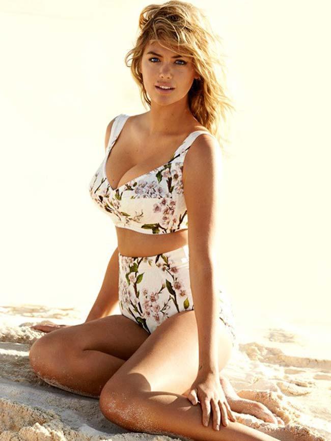 Siêu mẫu Kate Upton sinh năm 1992, trở nên nổi tiếng nhờ tạp chí Sports Illustrated.