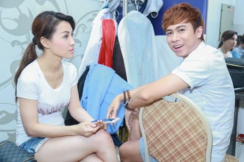 Mr. Đàm khéo léo trang điểm cho chồng Cẩm Ly - 15