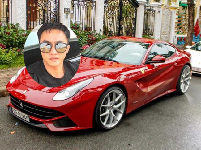 Doanh nhân Nguyễn Quốc Cường mới đây đã đón thêm 2 siêu xe Ferrari là 488 GTB và F12 Berlinetta.
