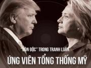 """Thế giới - [Đồ họa] """"Đòn độc"""" trong khẩu chiến Trump-Clinton"""