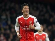 """Bóng đá - Arsenal thăng hoa: """"Cơn ghiền"""" bàn thắng của Ozil"""