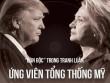"""[Đồ họa] """"Đòn độc"""" trong khẩu chiến Trump-Clinton"""