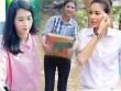 Hoa - á hậu Việt mặc giản dị mà rạng rỡ đi từ thiện
