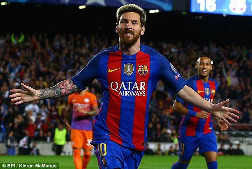 Không thắng được Barca, Man City mời chào Messi - 2
