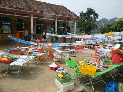 Mưa lũ tàn phá trường học, cơ sở giáo dục ở Quảng Bình - 2