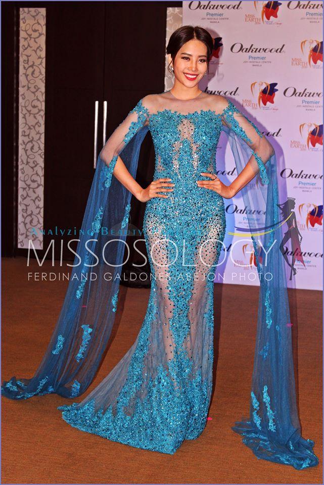 Nam Em thắng tiếp giải Bạc trang phục đẹp ở Miss Earth - 2