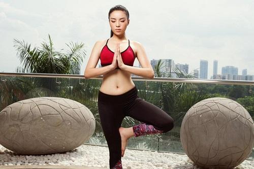 Kỳ Duyên gợi cảm, nuột nà tập gym khiến fan mê mệt - 5