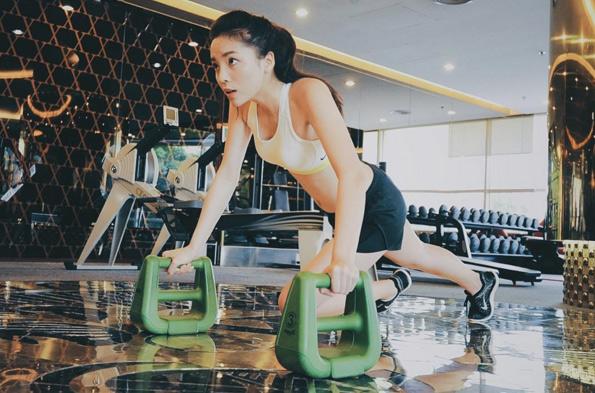 Kỳ Duyên gợi cảm, nuột nà tập gym khiến fan mê mệt - 8