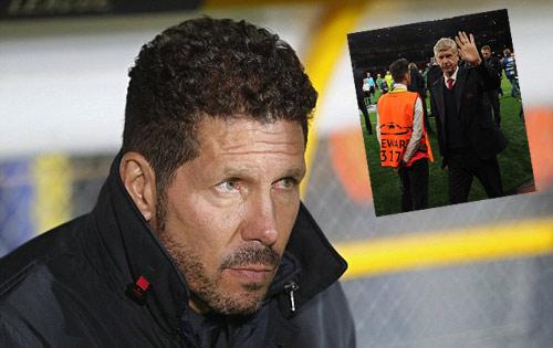 Simeone mê Premier League, có thể thay Wenger ở Arsenal - 1
