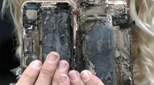 HOT: iPhone 7 phát nổ, xe ô tô bị cháy - 1