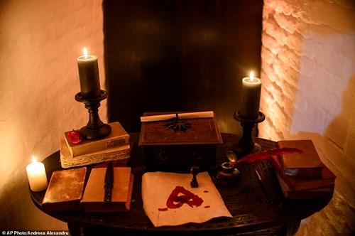 """Ngủ đêm trong quan tài ở lâu đài """"ma cà rồng"""" - 7"""