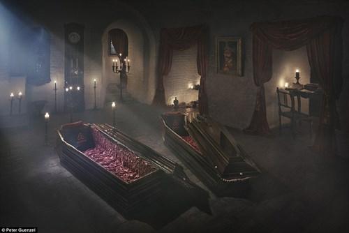"""Ngủ đêm trong quan tài ở lâu đài """"ma cà rồng"""" - 3"""