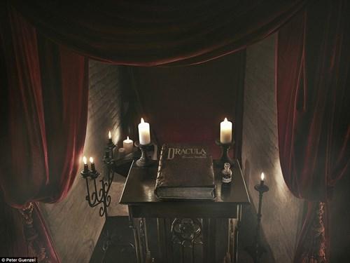 """Ngủ đêm trong quan tài ở lâu đài """"ma cà rồng"""" - 6"""
