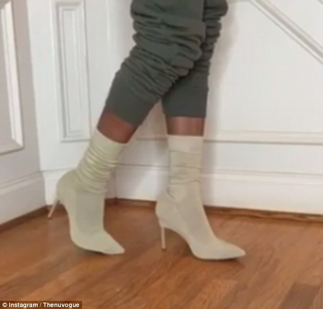 Tự chế giày 20 triệu đồng giống hot girl Hollywood - 3