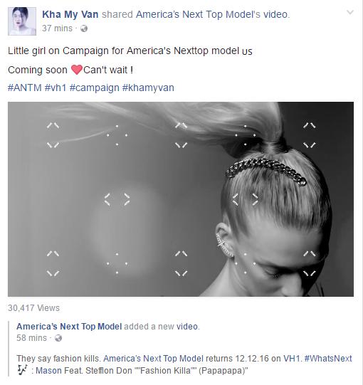 Kha Mỹ Vân bất ngờ xuất hiện trên sàn Next Top Mỹ - 3
