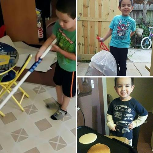 Tại sao mẹ Mỹ dạy con trai 6 tuổi nấu ăn và làm việc nhà? - 3