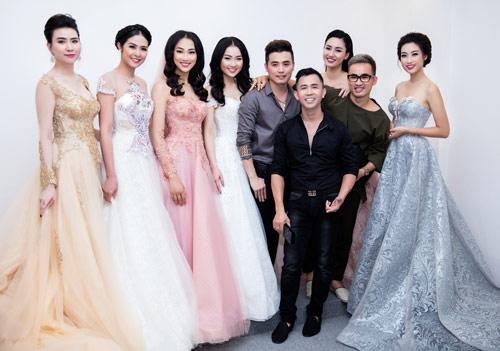 MC Thụy Vân gợi cảm nổi bật giữa dàn hoa – á hậu - 9