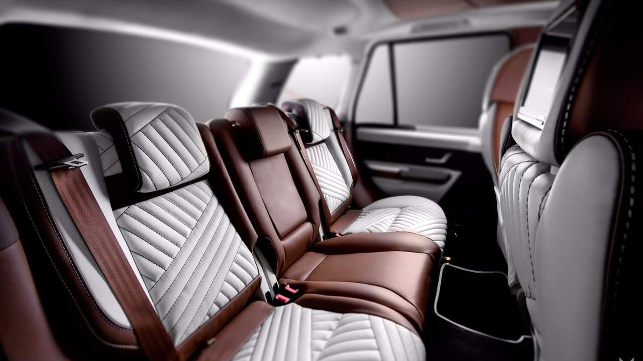 Nội thất siêu sang của chiếc Vilner Range Rover Sport - 3