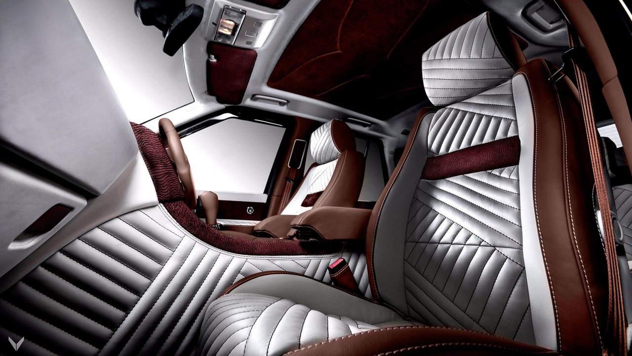 Nội thất siêu sang của chiếc Vilner Range Rover Sport - 5