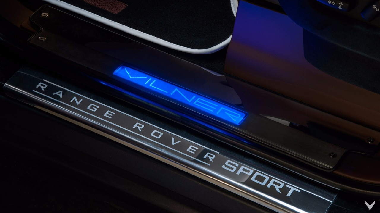 Nội thất siêu sang của chiếc Vilner Range Rover Sport - 7