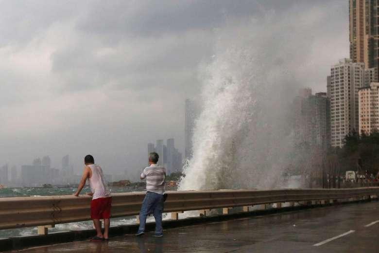 Hồng Kông dừng mọi hoạt động, đối phó bão Haima - 5