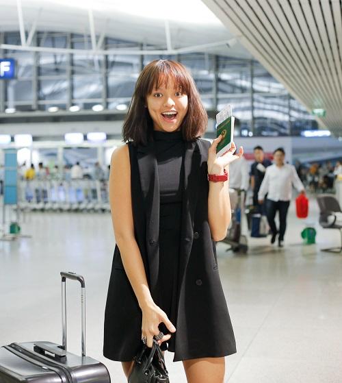 Mai Ngô mặt mộc cùng Lan Khuê bay đi Hàn dự show - 5