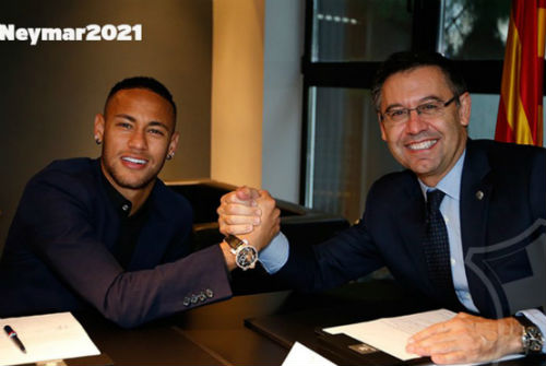 "Barca ""trói"" Neymar, phí phá vỡ hợp đồng 250 triệu euro - 1"