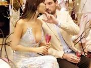 Hà Anh sexy bên chồng Tây tại buổi tiệc cho phái đẹp