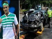 Thể thao - Trò đùa ác ý: Federer bị tai nạn nguy kịch
