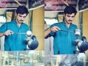 Bạn trẻ - Cuộc sống - Anh chàng bán trà nổi tiếng vì đẹp trai như tài tử